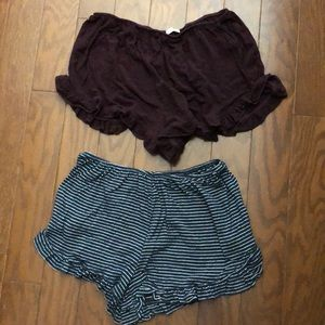 Pants - Flowy shorts *SET OF 2*